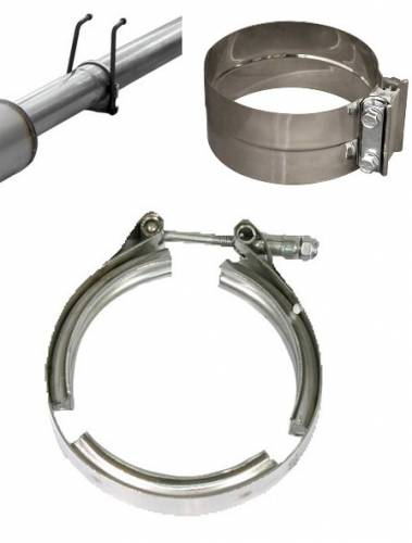 Exhaust Systems & Manifolds - Exhaust Clamps and Hangers