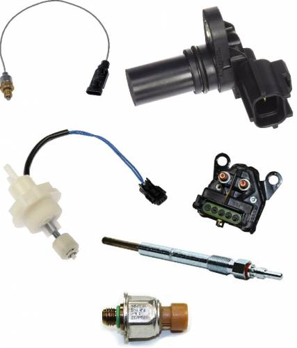 Aftermarket & OEM Replacement Parts - Glow Plugs & Engine Electrical Components