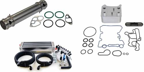 Aftermarket & OEM Replacement Parts - Oil Cooler Components