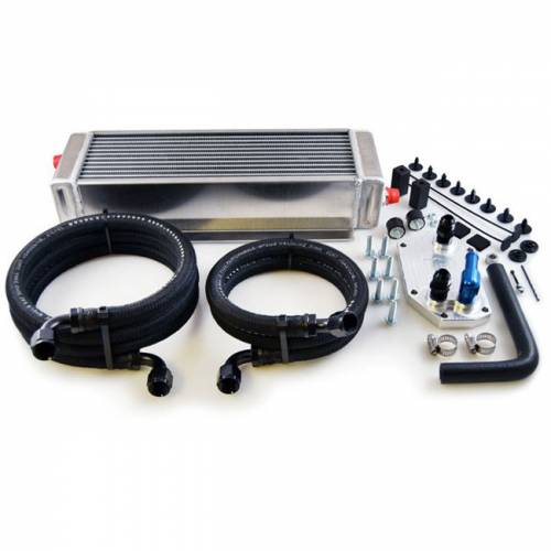 Oil Cooler Components - Oil cooler relocation kits