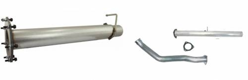 Exhaust Systems & Manifolds - DPF/Cat Race Pipes
