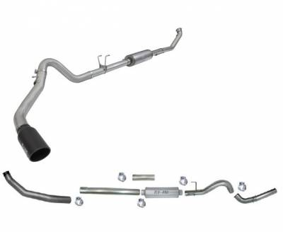 Products - Exhaust Systems & Manifolds - Turbo Back Systems Single