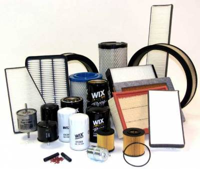 Products - Fluids & Filters - Fuel & Oil Filters