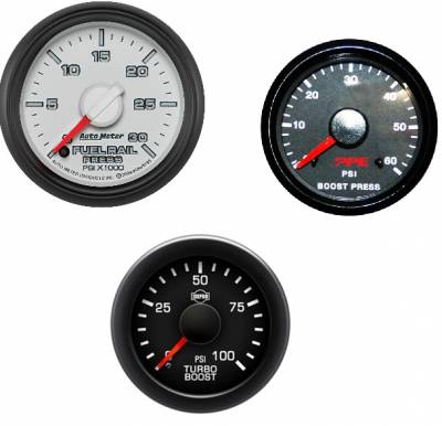 Heavy Duty Trucks - Gauges