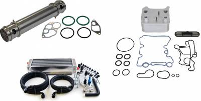 Products - Aftermarket & OEM Replacement Parts - Oil Cooler Components