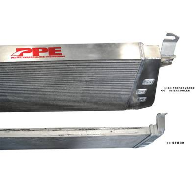 Pacific Performance Engineering - PPE High Flow Performance Intercooler for 2001-2004 GM Duramax LB7/LLY - Image 2