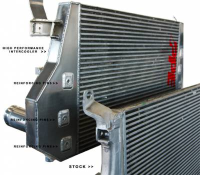 Pacific Performance Engineering - PPE High Flow Performance Intercooler for 2001-2004 GM Duramax LB7/LLY - Image 3